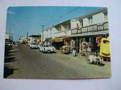 D 85 - Longeville - Avenue De La Plage - Voiture - Mobylette - Autres Communes