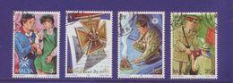 Malta 1993 - Boy Scout, 4v.  Annullo Rotondo E Leggero - Malta