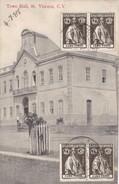 St. VINCENT. - Town Hall. Carte Très RARE - Cap Vert