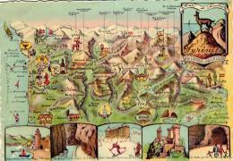 Les Pyrénées Ariègeoises Et Orientales - Cartes Géographiques