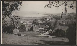 Unidentified Village In The United Kingdom, C.1940s - RP Postcard - To Identify