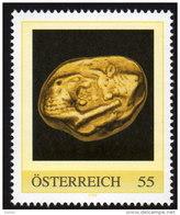 ÖSTERREICH 2009 ** Goldmünze Kroios V. Lydien 6.Jh.v.Chr.- PM Personalized Stamp MNH - Münzen