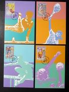 Thailand Maximum Cards 1995 SEa Games 18th #2 - Thailand
