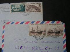 ST Pierre De Miquelon , 2 Old Cv. - Lettres & Documents