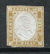 Italia. 1862. Efigie De Víctor Manuel II En Relieve. - Neufs