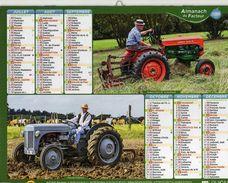 Calendrier Almanach La Poste 2015 TRACTEURS - Calendars