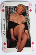 Carte à Jouer érotique Pin Up Chambord Sourires De France Belotte Tierce - Speelkaarten