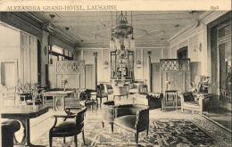 SUISSE VD  LAUSANNE  Alexandra Grand Hôtel  Hall  ......... - VD Vaud