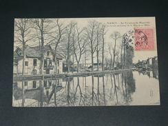 NANCY  1910   AU TERMINUS DE MAXEVILLE    CIRC  EDIT - Nancy