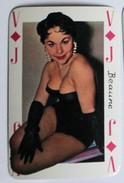 Carte à Jouer érotique Pin Up Beaune Sourires De France Belotte Tierce - Cartes à Jouer
