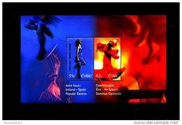 IRELAND/EIRE - 2008  POPULAR DANCES  MS   MINT NH - Blocchi & Foglietti