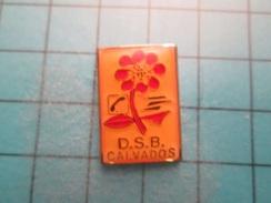 Pin513b Pin's Pins / LA POSTE + FRANCE TELECOM DON DU SANG BENEVOLE CALVADOS , Belle Qualité !!!    Marquage Au Dos : -- - Mail Services