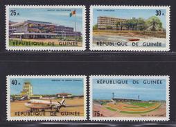 GUINEE N°  247 à 250 ** MNH Neufs Sans Charnière, TB  (D0533) - República De Guinea (1958-...)