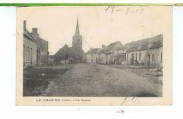 CPA-45-1908-LE CHARME-VUE GENERALE-ON APERÇOIT DES PERSONNAGES- - France