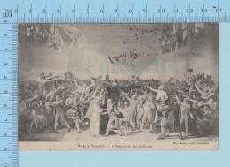 Revolution Francaise - Serment Du Jeu De Paume, Cachet Paris 1906 Depart + Cachet Squared Circle Florence - Carte Postal - Histoire