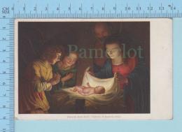 Fireze - Gheraldo Delle Notti, R. Galleria Ufissi, Used In 1918 Square Circle Cancel - Postcard - Histoire