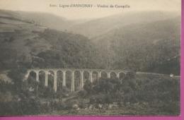 CPA  LIGNE  D ANNONAY VIADUC DE GAMPILLE  Port 0,75 - Annonay