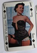 Carte à Jouer érotique Pin Up Saint Emilion Sourires De France Belotte Tierce - Playing Cards