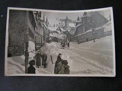 Lauscha Winter Foto Karte 1956 - Lauscha