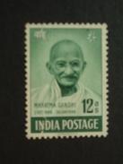 1948 Sg 307 12 Annas  Unused No Gum  (   ) - Unused Stamps