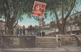 Ollioules - La Place Des Palmiers - Ollioules