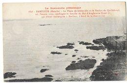 BARFLEUR (50) Phare De Gatteville Et Rocher De Quilleboeuf Naufrage Henri 1er D'Angleterre - Barfleur