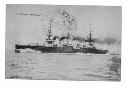 "MARINE NATIONALE  Cuirassé  ""DEMOCRATIE - Warships"