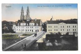 OPOLE OPPELN (Pologne) Pont Cathédrale Hopital - Polen