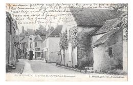 (17742-77) Marlotte - La Grande Rue Et L'Hôtel Des La Renaisance - France