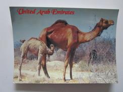 United Arab Emirates. Camel Milk Is Good To Drink. Awni Hadara 428. Dated 1996. - Emirats Arabes Unis