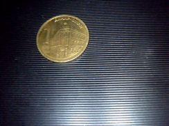 Piece Serbe De 1 Dinar Annee 2011 - Serbie