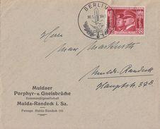 DR Brief EF Minr.763 SST Berlin 30.1.41 FDC - Deutschland