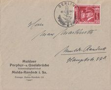 DR Brief EF Minr.763 SST Berlin 30.1.41 FDC - Briefe U. Dokumente