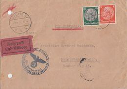 DR Brief Rohrpost, Eilbote Mif Minr.517,525 Berlin 9.6.37 - Briefe U. Dokumente