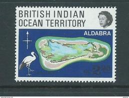 BIOT 1969 Aldabra Coral Atoll R2.25 Single MNH - British Indian Ocean Territory (BIOT)