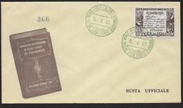 ANNULLO SPECIALE VERDE - CONGR. INTERN. STUDI STORICI RISORGIMENTO - PALERMO . 15.04.1961 - 1961-70: Marcofilie