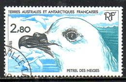 TAAF. N°110 Oblitéré De 1985. Pétrel Des Neiges. - Tierras Australes Y Antárticas Francesas (TAAF)