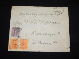 Austria 1925 Eisenerz Cover To Denmark__(L-3735) - Briefe U. Dokumente