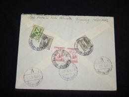 Austria 1926 Eisenerz Cover To Denmark__(L-3743) - Briefe U. Dokumente
