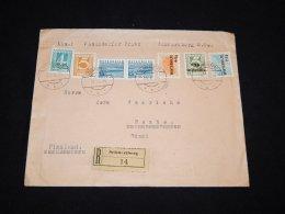 Austria 1934 Schwertberg Registered Cover To Finland__(LB-187) - Briefe U. Dokumente