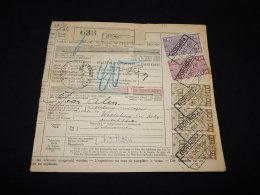 Belgium 1942 Bulletin D'Expédition Bornem Swastika__(LB-335) - 1923-1941