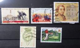 2003 Anno 2003 LOTTO 01 - FRANCOBOLLI USATI  - 5 Valori Diversi - Vedi Foto - 6. 1946-.. Repubblica