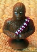 Figurine Micropopz Leclerc - Star Wars, Chewbacca - Power Of The Force