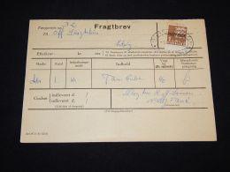 Denmark Fragtbrev 1962 1Kr To Esbjerg__(L-4071) - Parcel Post