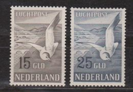 NVPH Nederland Netherlands Pays Bas Niederlande Holanda  Luchtpost 12-13 MNH ; Meeuwen Gull Mouette Gaviota Airmail - Luchtpostzegels