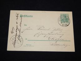 Germany 1903 Schwenningen 5pf Green Stationery Card__(L-4172) - Germany