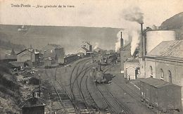 Trois-Ponts - Vue Générale De La Gare (top Animation, Loco, 1903) - Trois-Ponts