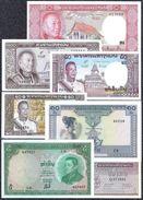 Du Laos, 1 - 500 Kip Type 1962-1975 UNC - Banknotes