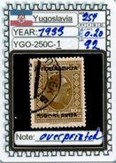EUROPE:#YUGOSLAVIA#CLASSIC# MH*# (YGO-250C-1) (92) - 1919-1929 Regno Dei Serbi, Croati E Sloveni
