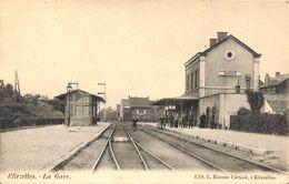 Ellezelles - La Gare (animée, Edit. L. Moreau Liétard, 1906) - Ellezelles